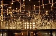 طراحی و نورپردازی زیبا در کافه تریا