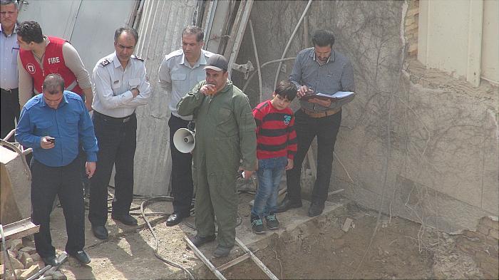عدم رعایت اصول گودبراری علت حادثه مرگبار ساختمان سه طبقه مسکونی در خیابان ظفر