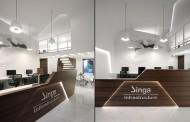 طراحی دفتر مرکزی سینگا; هند