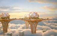 شهری رویایی در آسمان + فیلم