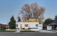بازسازی خانه ایی ویران شده در کانادا