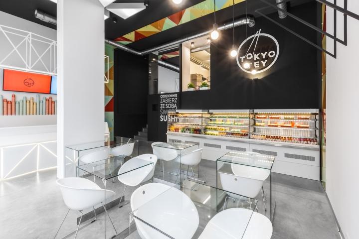 رستوران سوشی توکیو تی در لهستان با طراحی متفاوت