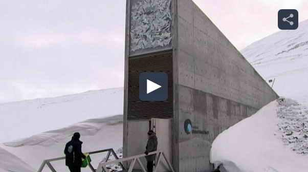 قطب شمال; خزانه جهانی برای نگهداری بذرهای کشاورزی