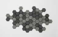دیوارپوش های سه بعدی کندویی; Edgy