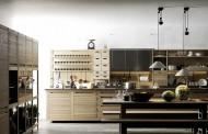 کابینت  آشپزخانه مدرن الهام گرفته از زندگی روستایی