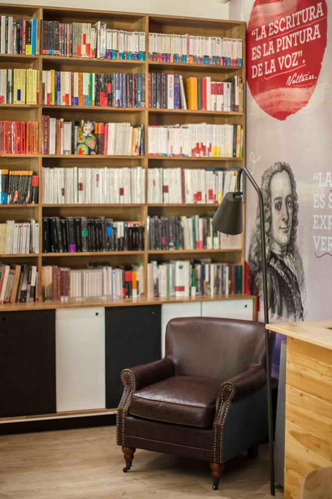 کافه کتابی متفاوت در کلمبیا; محیطی آرامش بخش برای گذران اوقات فراغت