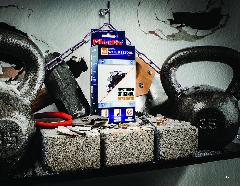fiberfix-پک ترمیم دیوار گچی